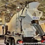 Автобетоносмеситель Cifa SL10 с колбой объемом 10 м³ на шасси MAN TGX 41.400 8x4-WW на выставке Комтранс 2013 - 3