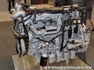 газовый двигатель для автобусов MAN Е0836 LOH на выставке Комтранс 2013 - 1