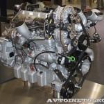 газовый двигатель для автобусов MAN Е0836 LOH на выставке Комтранс 2013 - 3