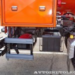 Топливозаправщик Бецема БЦМ-229.3 с цистерной объемом 15 м³ на шасси  MAN TGS 33.480 6x6 BB-WW на выставке Комтранс 2013 - 6
