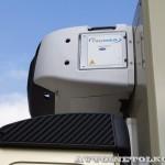 Рефрижератор Schmitz вместимостью 19 европаллетт с холодильной установкой Easy Cold и грузоподъемным бортом BAR на шасси Volvo FM 6х2 на выставке Комтранс 2013 - 5