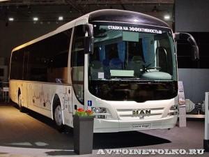Междугородний автобус MAN Lion's Regio R12 на выставке Комтранс 2013 - 1