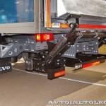 Изотермический фургон АМЗ №1 вместимостью 16 европаллетт с грузоподъемным бортом BAR на шасси Volvo FE 4х2 на выставке Комтранс 2013 - 4