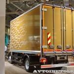 Изотермический фургон Schmitz вместимостью 12 европаллетт на шасси Volvo FL на выставке Комтранс 2013 - 2