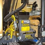 Автоэвакуатор АМЗ №1 с краном-манипулятором Palfinger на шасси Volvo FL на выставке Комтранс 2013 - 7