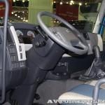 Изотермический фургон АМЗ №1 вместимостью 16 европаллетт с грузоподъемным бортом BAR на шасси Volvo FE 4х2 на выставке Комтранс 2013 - 3
