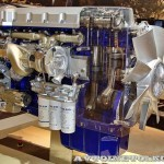 Двигатель Volvo D13C на выставке Комтранс 2013 - 2