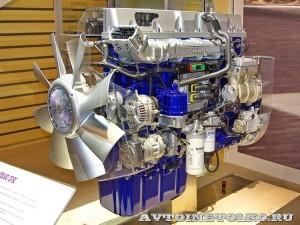 Двигатель Volvo D13C на выставке Комтранс 2013 -  1