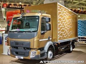 Изотермический фургон Schmitz вместимостью 12 европаллетт на шасси Volvo FL на выставке Комтранс 2013 - 1