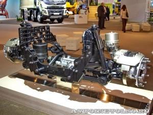 Независимая передняя подвеска Volvo IFS на выставке Комтранс 2013 - 1