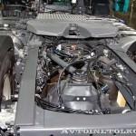 Магистральный тягач Volvo FH Supernova с двигателем 460 л.с. и кабиной Globetrotter на выставке Комтранс 2013 - 7