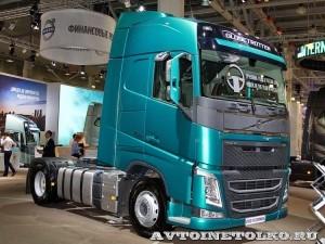 Магистральный тягач Volvo FH Supernova с двигателем 460 л.с. и кабиной Globetrotter на выставке Комтранс 2013 - 1