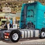 Магистральный тягач Volvo FH Supernova с двигателем 460 л.с. и кабиной Globetrotter на выставке Комтранс 2013 - 2