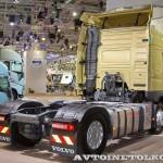 Седельный тягач Volvo FM с двигателем 420 л.с. и кабиной Globetrotter на выставке Комтранс 2013 - 3
