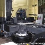 Седельный тягач Volvo FM с двигателем 420 л.с. и кабиной Globetrotter на выставке Комтранс 2013 - 5