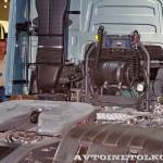 Магистральный тягач Volvo FH с двигателем 460 л.с. и кабиной Globetrotter XL на выставке Комтранс 2013 - 4