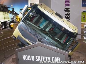 Аттракцион Поворачивающаяся кабина Volvo на выставке Комтранс 2013 - 1