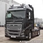 Магистральный тягач Volvo FH16 с двигателем 540 л.с. и кабиной Globetrotter XL на выставке Комтранс 2013 - 3