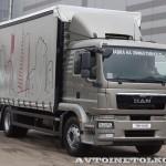 Шторный фургон Мосдизайнмаш на шасси MAN TGM 18.250 4x2 BL на выставке Комтранс 2013 - 3