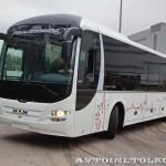 Междугородний автобус MAN Lion's Regio R12 на выставке Комтранс 2013 - 2