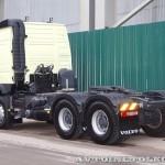 Седельный тягач Volvo FMX с двигателем 420 л.с. и кабиной Globetrotter на выставке Комтранс 2013 - 2