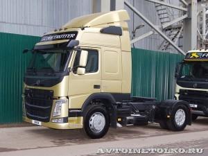Седельный тягач Volvo FM с двигателем 420 л.с. и кабиной Globetrotter на выставке Комтранс 2013 - 1