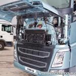 Магистральный тягач Volvo FH с двигателем 460 л.с. и кабиной Globetrotter XL на выставке Комтранс 2013 - 2