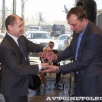 Церемония выдачи 10,000-го автомобиля Infiniti реализованного по программе Infiniti Finance - 9
