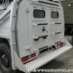 Штурмовой автомобиль Абаим-Абанат на выставке Интерполитех - 2