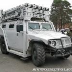 Штурмовой автомобиль Абаим-Абанат на выставке Интерполитех - 6