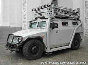 Штурмовой автомобиль Абаим-Абанат на выставке Интерполитех - 7