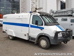 Водометный автомобиль Гроза АСВ-2,0-20 (3310) модель 120ВР на выставке Интерполитех - 1