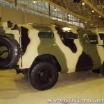 Полицейский автомобиль СПМ-2 (ГАЗ-233036) с одностворчатой задней дверью на выставке Интерполитех - 3