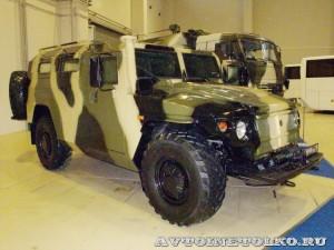 Полицейский автомобиль СПМ-2 (ГАЗ-233036) с одностворчатой задней дверью на выставке Интерполитех - 4