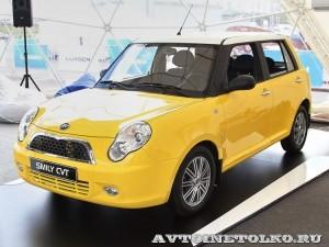 Легковой автомобиль Lifan Smily CVT на Московском Автосалоне ММАС 2012 - 1