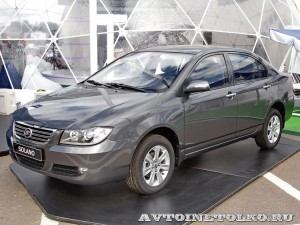 Легковой автомобиль Lifan Solano на Московском Автосалоне ММАС 2012 - 1