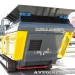 Мобильная роторная дробилка Rubble Master RM100 GO на выставке MiningWorld Russia 2013 - 1