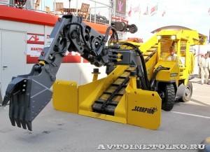 Электрический погрузчик непрерывного действия Atlas Copco Haggloader 7HR-B на выставке MiningWorld Russia 2013 - 1