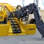 Электрический погрузчик непрерывного действия Atlas Copco Haggloader 7HR-B на выставке MiningWorld Russia 2013 - 2