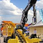 Электрический погрузчик непрерывного действия Atlas Copco Haggloader 7HR-B на выставке MiningWorld Russia 2013 - 3