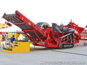 Тяжелая мобильная сортировочная установка Maximus 516 на выставке MiningWorld Russia 2013 - 1