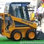 Минипогрузчик с бортовым поворотом Mustang 2056 на выставке MiningWorld Russia 2013 - 1