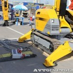 Самоходная машина робот Brokk 400 на выставке MiningWorld Russia 2013 - 3