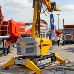 Самоходная машина робот Brokk 400 на выставке MiningWorld Russia 2013 - 2