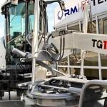 Автогрейдер Terex TG 180 на выставке MiningWorld Russia 2013 - 1