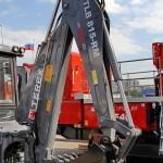 Экскаватор-погрузчик Terex TLB-815RM на выставке MiningWorld Russia 2013 - 5