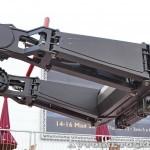 Телескопический погрузчик Manitou MHT-860L с захватом для шин TH на выставке MiningWorld Russia 2013 - 7