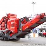 Конусная дробилка на гусеничном ходу Terex Finlay C-1540 на выставке MiningWorld Russia 2013 - 6