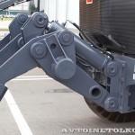 Автогрейдер Terex TG 180 на выставке MiningWorld Russia 2013 - 3