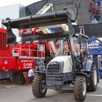 Экскаватор-погрузчик Terex TLB-815RM на выставке MiningWorld Russia 2013 - 2